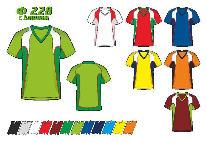 Футболка 228 с кантом