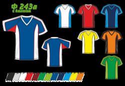 Футболка 243а с кантом