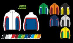Куртка 832 с кантом