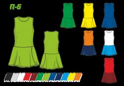 Платье П-6