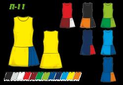 Платье П-11