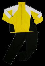 Костюм парадный желто-черно-белый