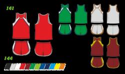 Легкоатлетическая форма 141/144