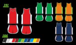 Легкоатлетическая форма 151/154 с кантом