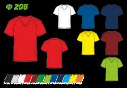 Футболка простая 206 реглан