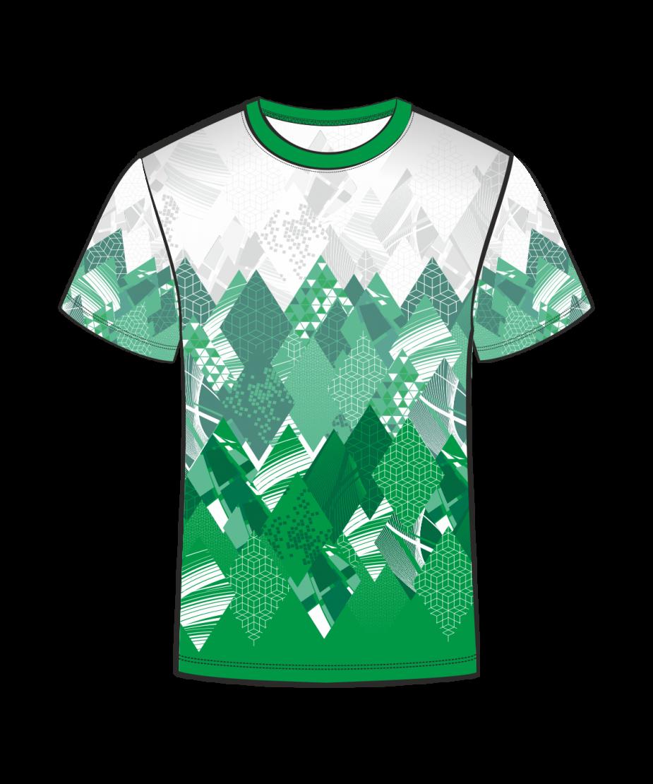 Футболка 207 зеленая