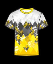 Футболка 207 желтая