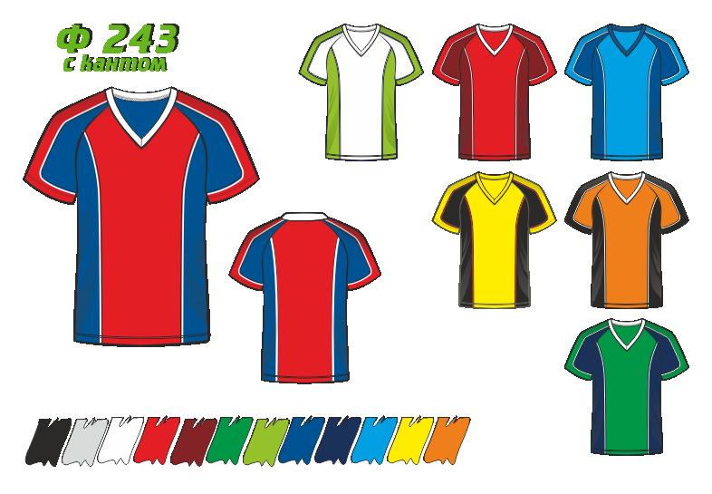 Футболка 243 с кантом