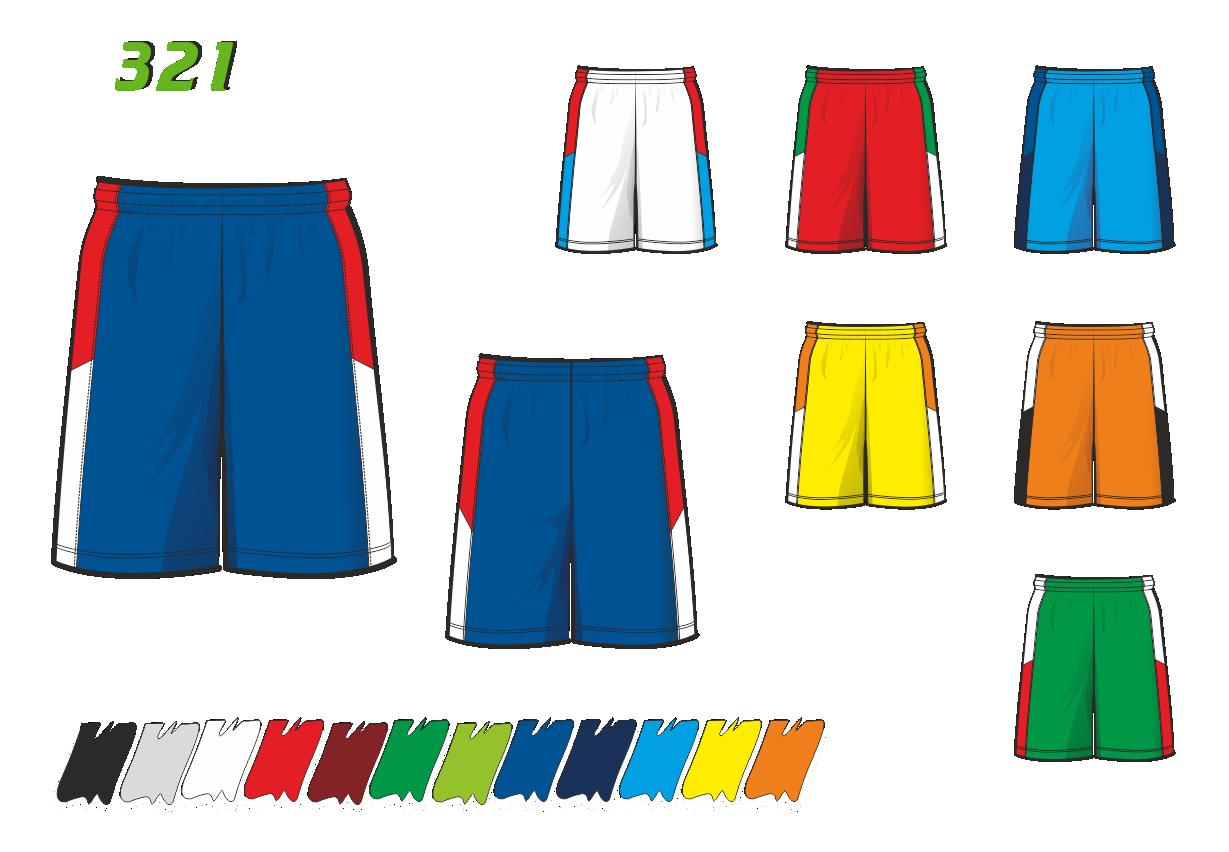 Баскетбольные шорты 321