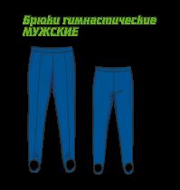 Мужские гимнастические брюки