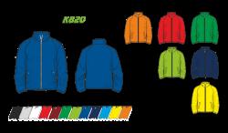 Куртка простая 820 рукав кривой реглан