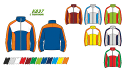 Куртка 837 с кантом