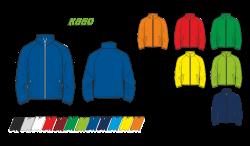Куртка простая 860 рукав реглан