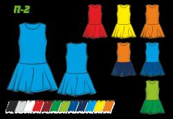 Платье П-2