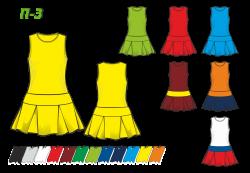 Платье П-3