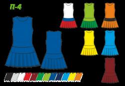 Платье П-4
