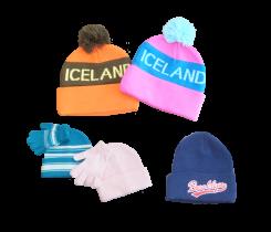 Вязаные шапки с логотипом на заказ от 500шт